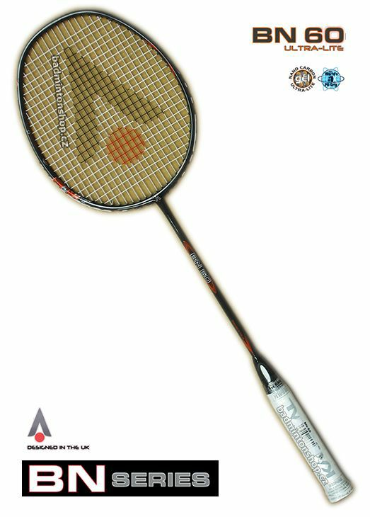 badmintonová raketa KARAKAL BN-60 BLACK/ORANGE