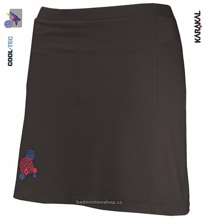 dámská badmintonová sukně KARAKAL AMARA BLACK