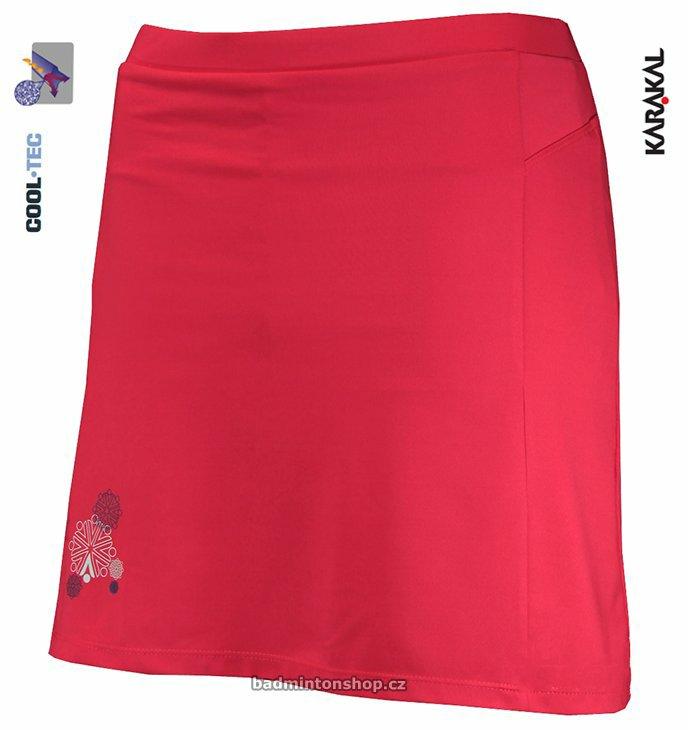 dámská badmintonová sukně KARAKAL AMARA FIREFLY