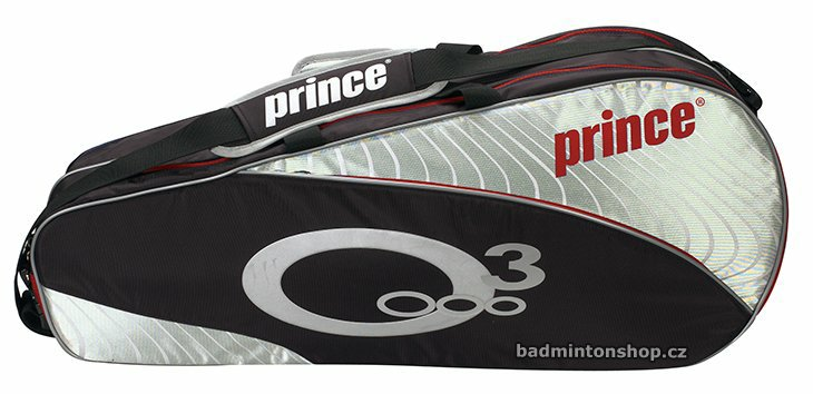 badmintonový bag PRINCE O3 6 PACK RED