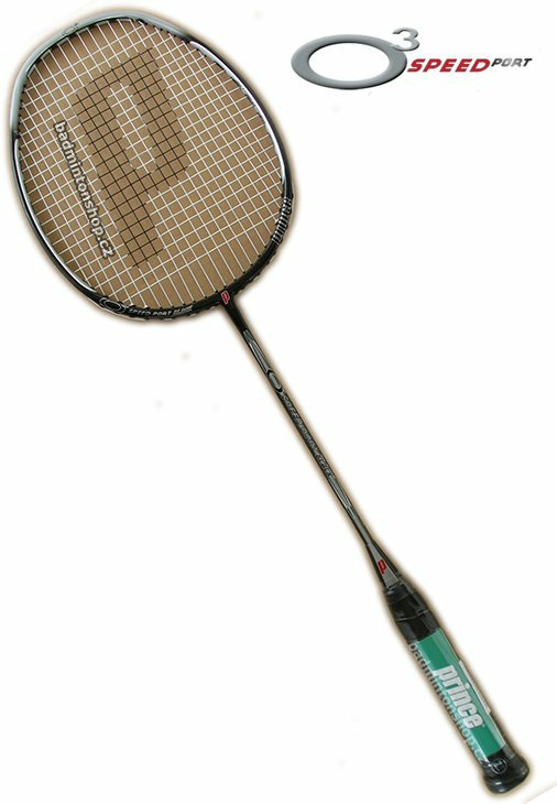badmintonová raketa PRINCE O3 SPEEDPORT BLACK