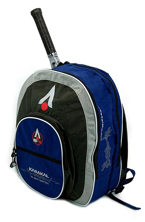 badmintonový batoh KARAKAL RB-15 GRAY/BLUE