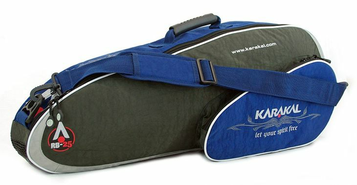badmintonový bag KARAKAL RB-25 GRAY/BLUE
