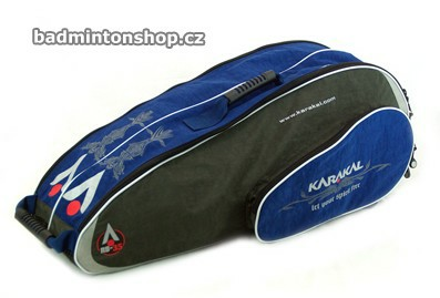 badmintonový bag KARAKAL RB-35 GRAY/BLUE