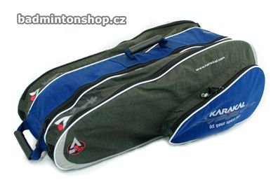 badmintonový bag KARAKAL RB-55 GRAY/BLUE