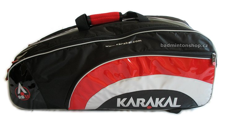 badmintonový bag KARAKAL RB-55 BLACK/RED