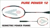 badmintonová raketa KARAKAL PURE POWER 12
